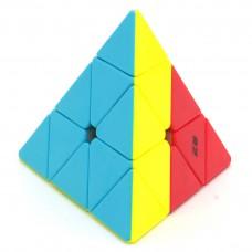 Kostka Pyraminx 3-kolorowa - DO NAUKI - QiYi VULCAN